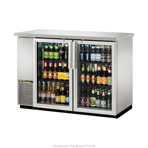 True TBB-24-48G-S-LD Backbar Cabinet Refrigerated (Magnified)