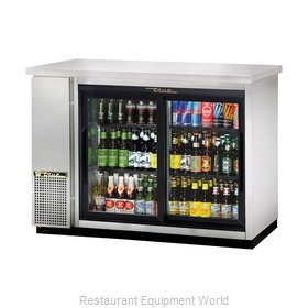 True TBB-24-48G-SD-S-LD Backbar Cabinet, Refrigerated