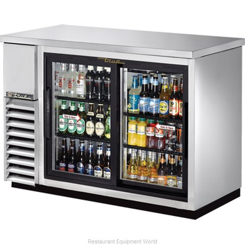True TBB-24-48G-SDSLD Backbar Cabinet Refrigerated (Magnified)