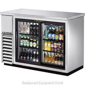 True TBB-24-48G-SDSLD Backbar Cabinet Refrigerated