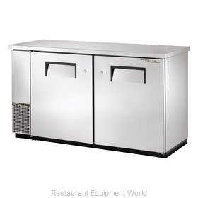 True TBB-24-60-S Backbar Cabinet Refrigerated