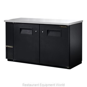 True TBB-24-60 Back Bar Cabinet, Refrigerated