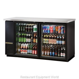 True TBB-24-60G-HC-LD Back Bar Cabinet, Refrigerated