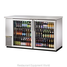 True TBB-24-60G-S-LD Backbar Cabinet Refrigerated