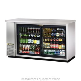 True TBB-24-60G-SD-S-LD Backbar Cabinet, Refrigerated