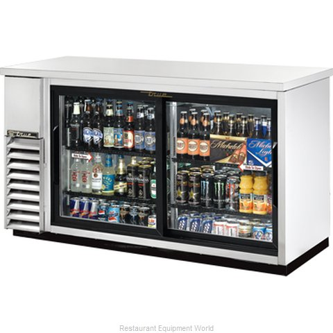 True TBB-24-60G-SDSLD Backbar Cabinet Refrigerated