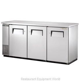 True TBB-24-72-S-HC Back Bar Cabinet, Refrigerated