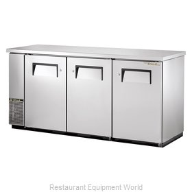 True TBB-24-72-S Backbar Cabinet Refrigerated