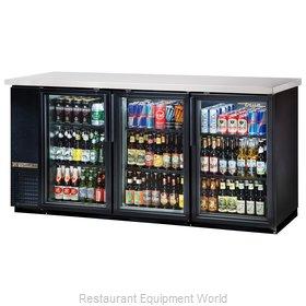 True TBB-24-72G-HC-LD Back Bar Cabinet, Refrigerated