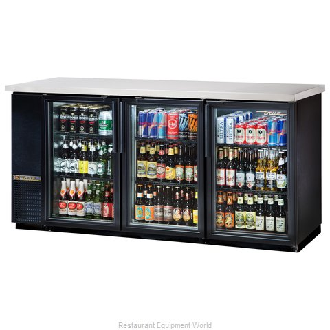True TBB-24-72G-LD Backbar Cabinet Refrigerated (Magnified)