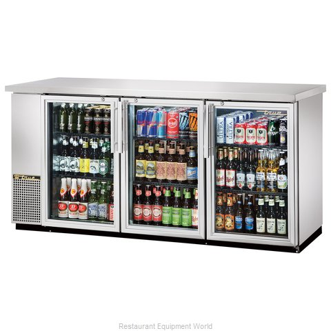 True TBB-24-72G-S-LD Back Bar Cabinet, Refrigerated (Magnified)