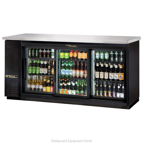 True TBB-24-72G-SD-LD Backbar Cabinet Refrigerated (Magnified)