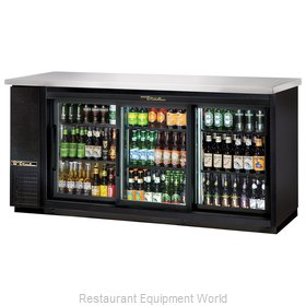 True TBB-24-72G-SD-LD Backbar Cabinet Refrigerated