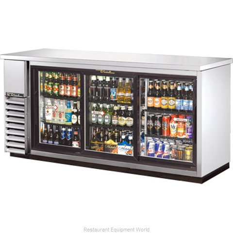 True TBB-24-72G-SDSLD Backbar Cabinet Refrigerated (Magnified)