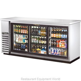 True TBB-24-72G-SDSLD Backbar Cabinet Refrigerated