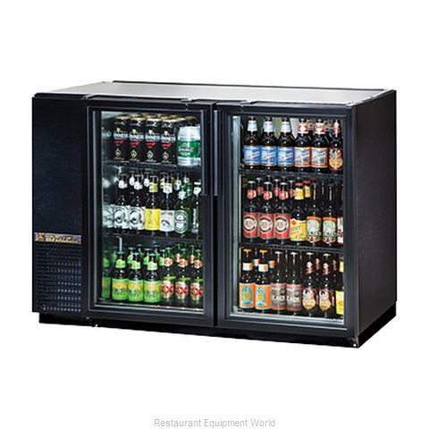 True TBB-24GAL-48G-LD Backbar Cabinet Refrigerated (Magnified)