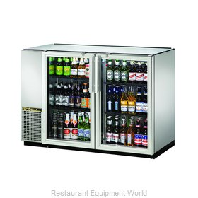 True TBB-24GAL-48G-S-LD Backbar Cabinet, Refrigerated