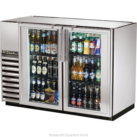 True TBB-24GAL-48GSLD Backbar Cabinet Refrigerated (Magnified)