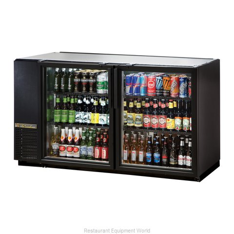 True TBB-24GAL-60G-LD Back Bar Cabinet, Refrigerated (Magnified)