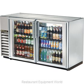 True TBB-24GAL-60GSLD Backbar Cabinet Refrigerated
