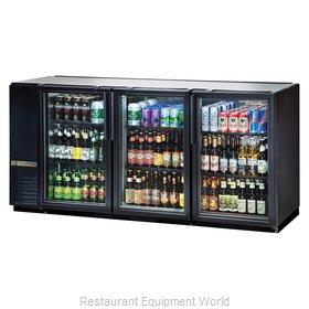True TBB-24GAL-72G-HC-LD Back Bar Cabinet, Refrigerated