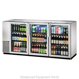 True TBB-24GAL-72G-S-LD Back Bar Cabinet, Refrigerated