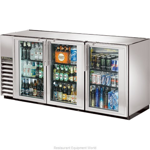 True TBB-24GAL-72GSLD Backbar Cabinet Refrigerated