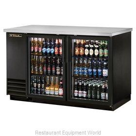 True TBB-2G-HC-LD Back Bar Cabinet, Refrigerated