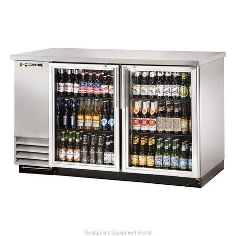 True TBB-2G-S-HC-LD Back Bar Cabinet, Refrigerated