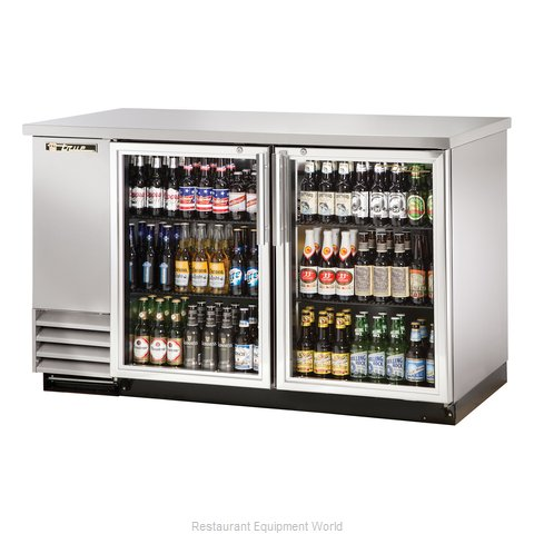 True TBB-2G-S-LD Backbar Cabinet Refrigerated (Magnified)