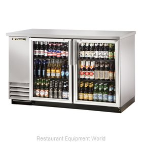 True TBB-2G-S-LD Backbar Cabinet Refrigerated
