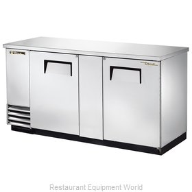 True TBB-3-S-HC Back Bar Cabinet, Refrigerated