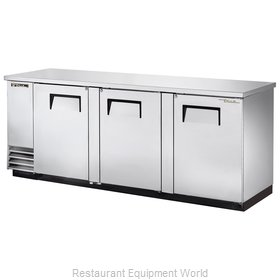 True TBB-4-S Back Bar Cabinet, Refrigerated