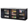 True TBB-4G-HC-LD Back Bar Cabinet, Refrigerated