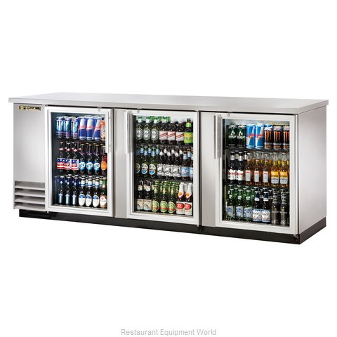 True TBB-4G-S-LD Backbar Cabinet Refrigerated (Magnified)