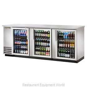 True TBB-4G-S-LD Backbar Cabinet Refrigerated