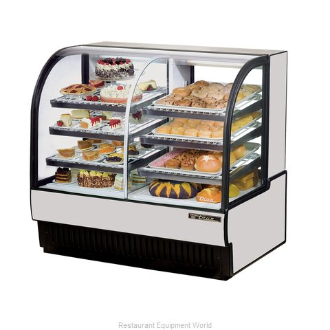 True TCGDZ-50 Display Case Refrigerated Non-Refrig (Magnified)