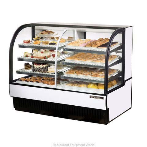 True TCGDZ-59 Display Case Refrigerated Non-Refrig (Magnified)