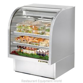 True TCGG-36-S Display Case Refrigerated Deli