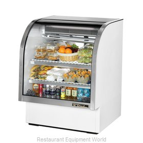 True TCGG-36 Display Case Refrigerated Deli