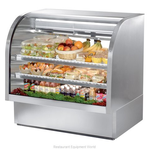 True TCGG-48-S Display Case Refrigerated Deli (Magnified)