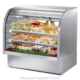 True TCGG-48-S Display Case Refrigerated Deli
