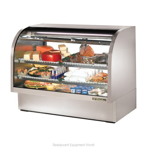 True TCGG-60-S Display Case Refrigerated Deli (Magnified)