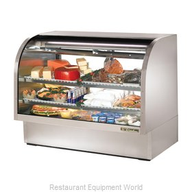 True TCGG-60-S Display Case Refrigerated Deli