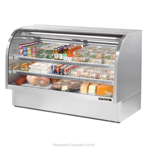 True TCGG-72-S Display Case Refrigerated Deli