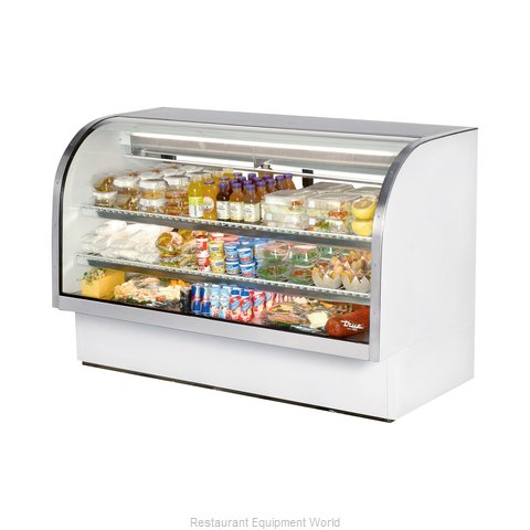 True TCGG-72 Display Case Refrigerated Deli