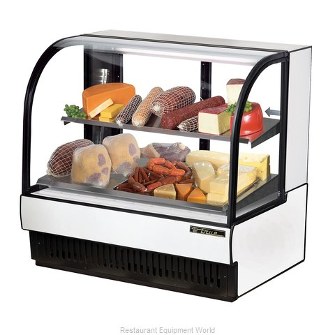 True TCGR-50-CD Display Case Refrigerated Deli (Magnified)