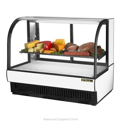 True TCGR-59-CD Display Case Refrigerated Deli (Magnified)