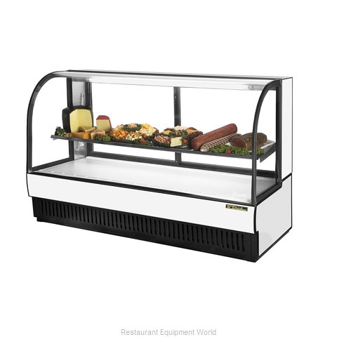 True TCGR-77-CD Display Case Refrigerated Deli