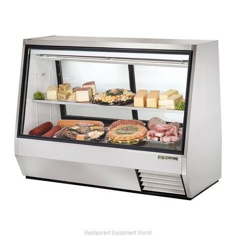 True TDBD-72-2 Double-Duty Deli Case